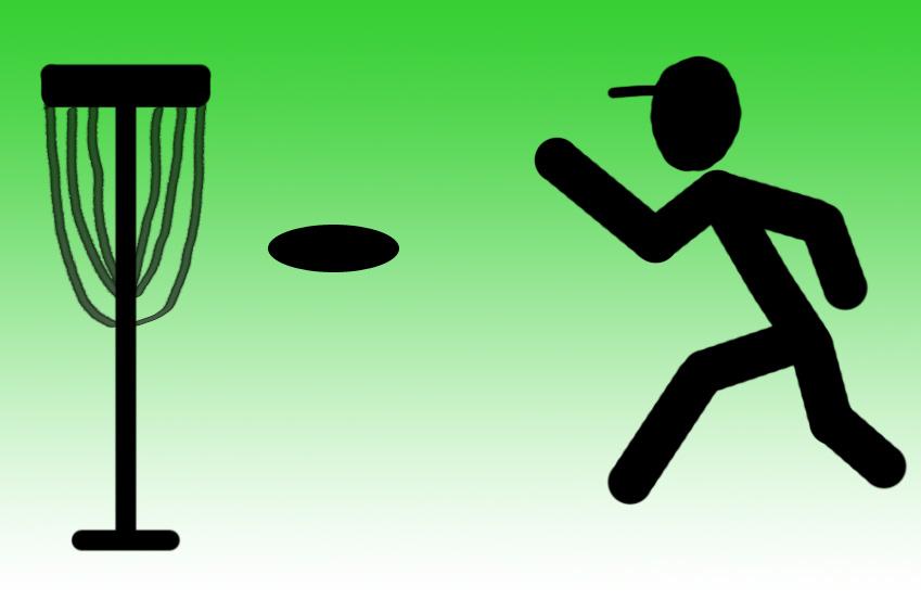 Frisbee-Golfen-oder-Discgolf